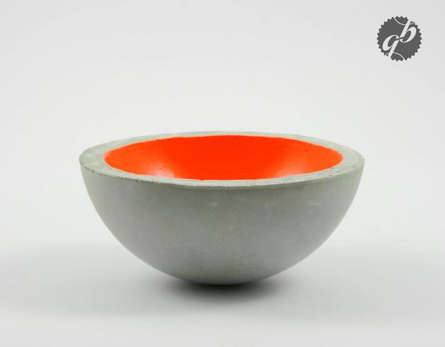 Glaenzend grau schale