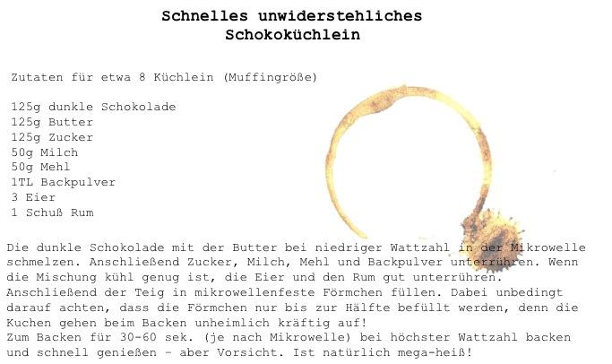 schokokuechlein Rezept