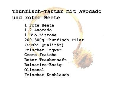 Tartar rezept