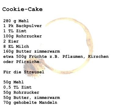 cookiecake rezept