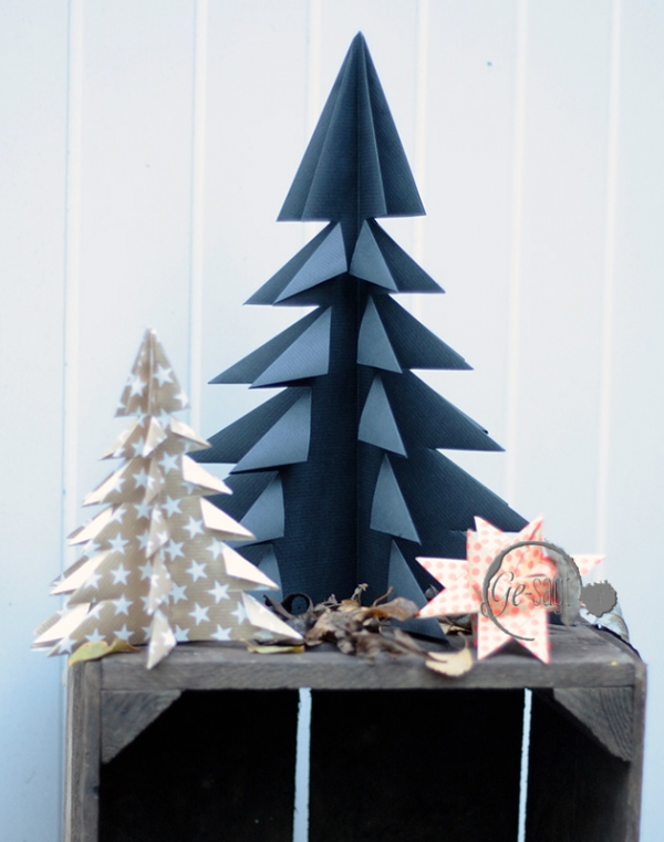 Origami Tannenbäume ensemble logo
