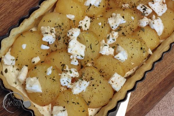 Kartoffeltarte 3