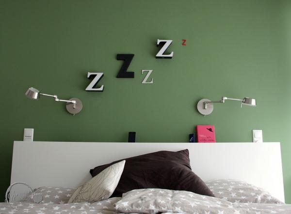 Wanddeko fürs Schlafzimmer 2