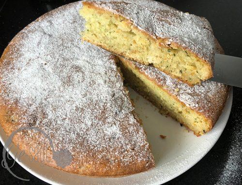Ge-backen: Zucchini-Kuchen mit Sommeraroma
